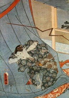 Toyokuni_III_kaya_lightning_c.1850