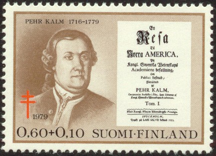 Peter_Kalm_Finnish_stamp_7
