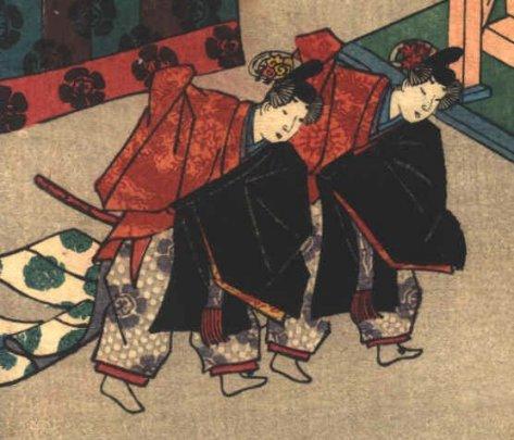Genji_+_To_no_Chujo_dancing_Toyokuni_III_no6