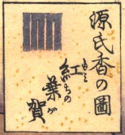 Momiji_no_ga_cartouche_Toyokuni_III
