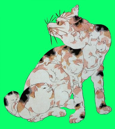 Kuniyoshi_cat_made_of_cats5