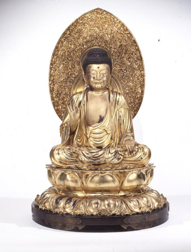 BM_Amida_Sakyamuni_gilded_wood_mid_18th_c._7