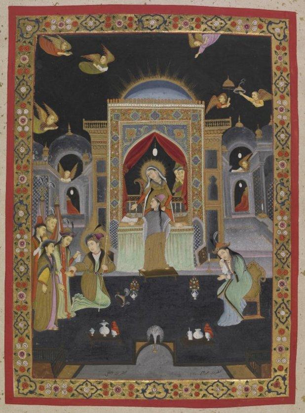 BM_Islamic_miniature_Mary_Jesus_18th_c._Uttar_Pradesh_7b