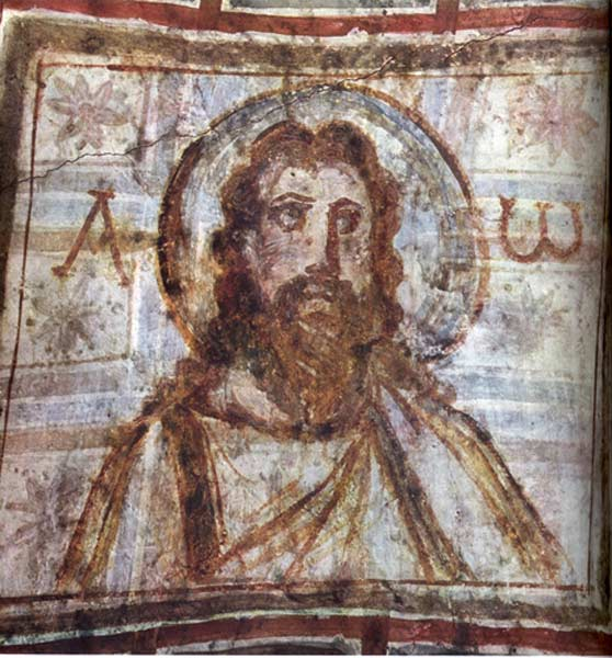 Christ_with_beard_Commodilla_alpha_omega_4th_c._Rome_commons_7
