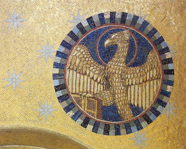Mont_Sainte_Odile_eagle_mosaic_Mattana_commons_7d