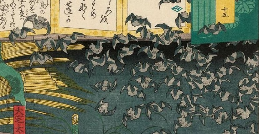 MFA_Yoshiiku_Genji_parody_with_lots_of_bats_7_dtl