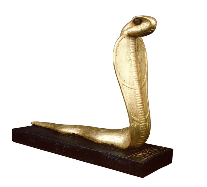 Egyptian_Museum_Neter_ankh_golden_cobra_7
