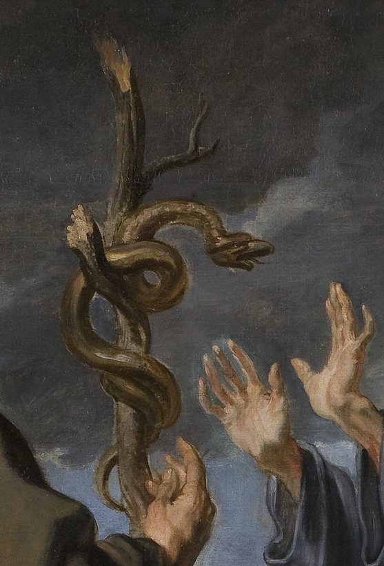 Prado_Van_Dyck_Moses_and_the_brazen_serpent_7_detail