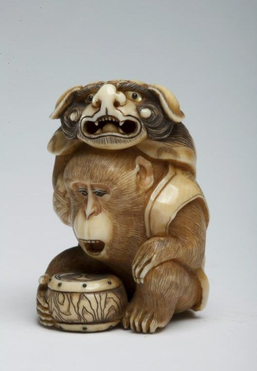 Asian_Art_Museum_netsuke_monkey_lion_mask