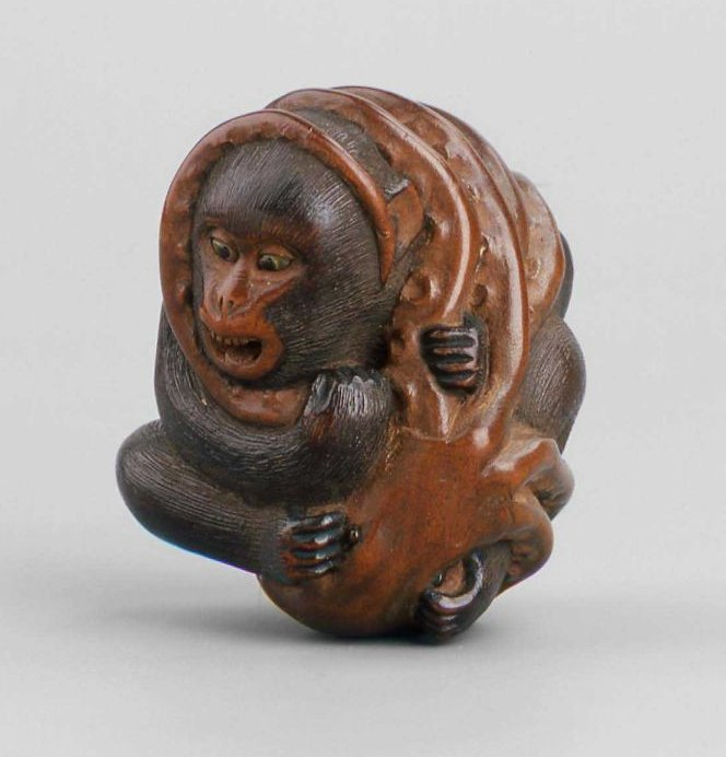 MFA_netsuke_monkey_struggling_with_octopus_7