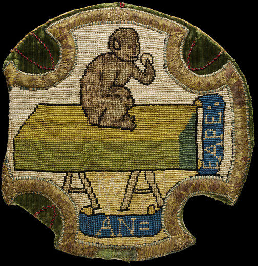 VAM_Mary_Queen_of_Scots_monkey_embroidery_c.1570