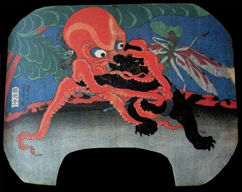 Kuniyoshi_Octopus_bear_wrestling_7d