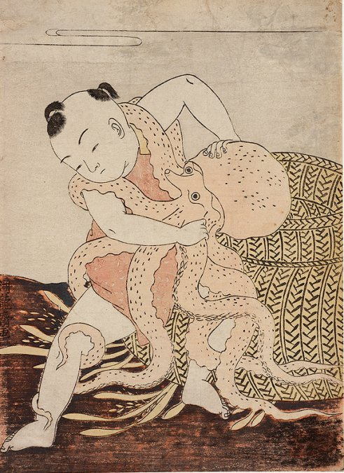 Mead_Amherst_Koryusai_Boy_wrestling_with_octopus_7b