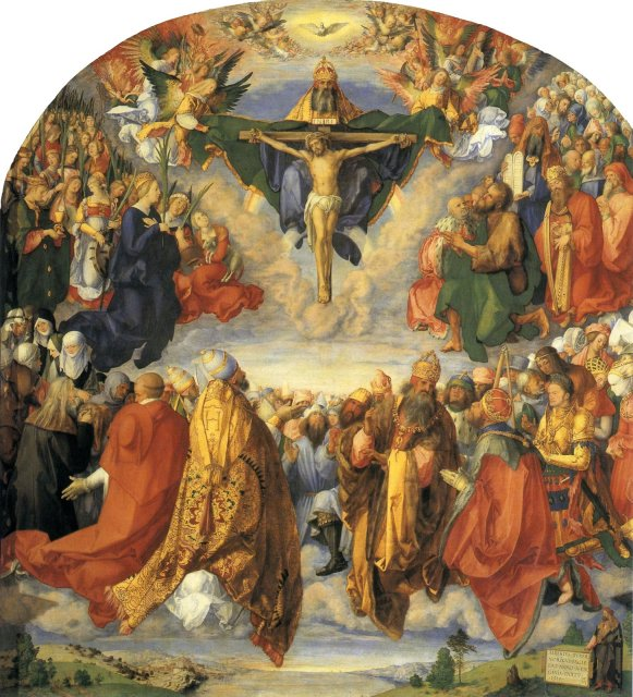 Adoration_of_the_Trinity_by_Durer_Vienna_7b