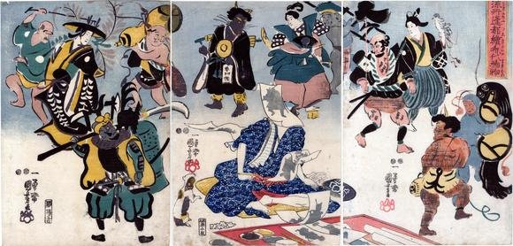 Kuniyoshi_otsue_triptych_Lyon_Collection_7