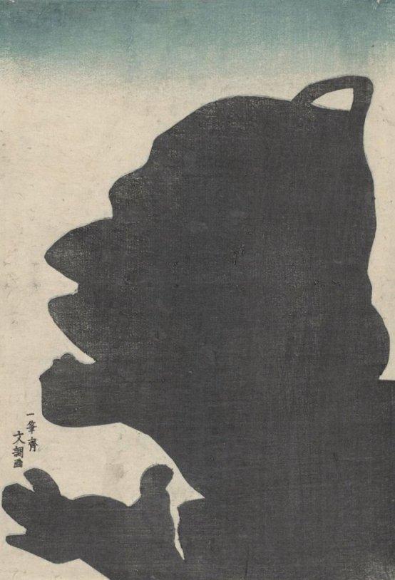 MFA_Kuniyoshi_Benkei_Miidera_bell_silhouette_7b