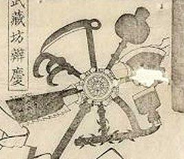 MFA_Kuniyoshi_Benkei_tengu_7_kumade_detail2