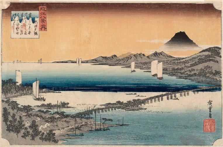 MFA_Hiroshige_Sunset_Glow_at_Seta_7b