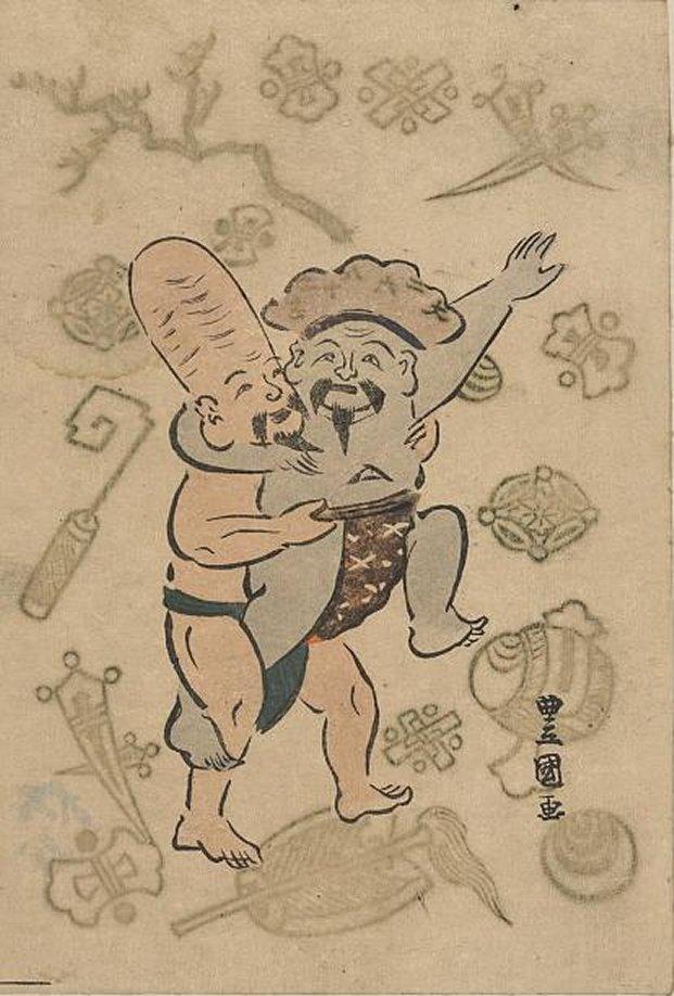 LOC_Toyokuni_I_Daikoku_sumo_7b