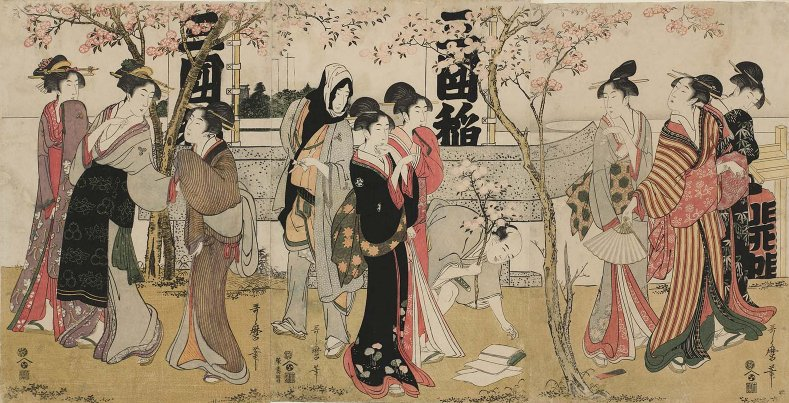 MFA_Utamaro_Mimeguri_triptych_7b