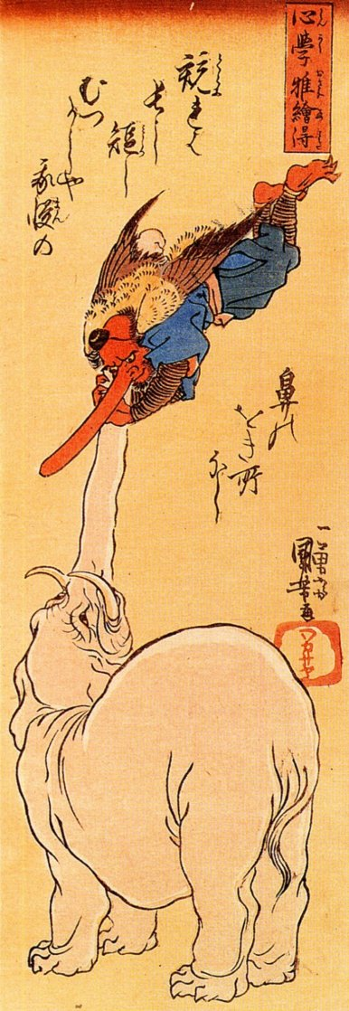 Kuniyoshi_tengu_elephant_7d