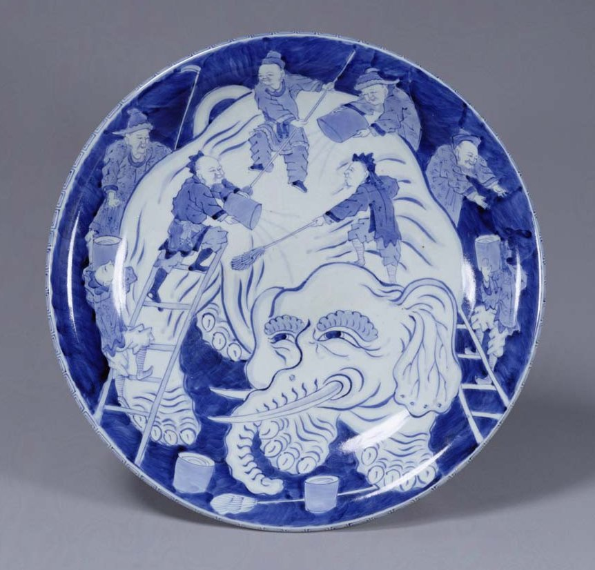 TNM_Imari_washing_the_elephant_19th_c._7