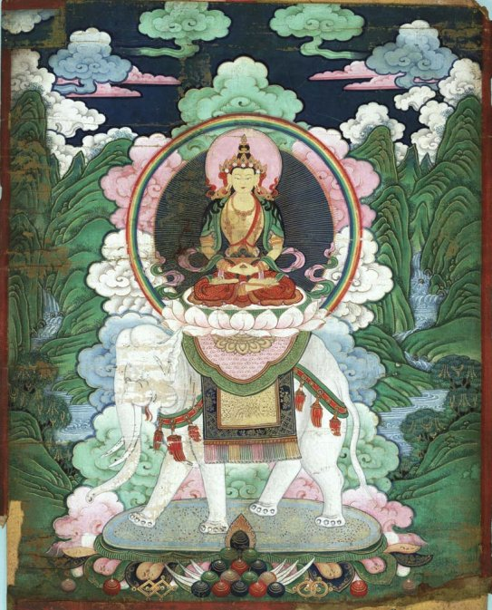 TNM_Tibetan_18th_to_19th_c._Samantabhadra_on_elephant_7b