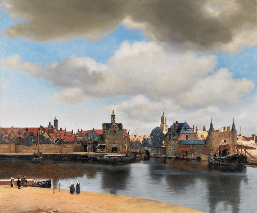 Mauritshuis_View_of_Delft_Vermeer_7b