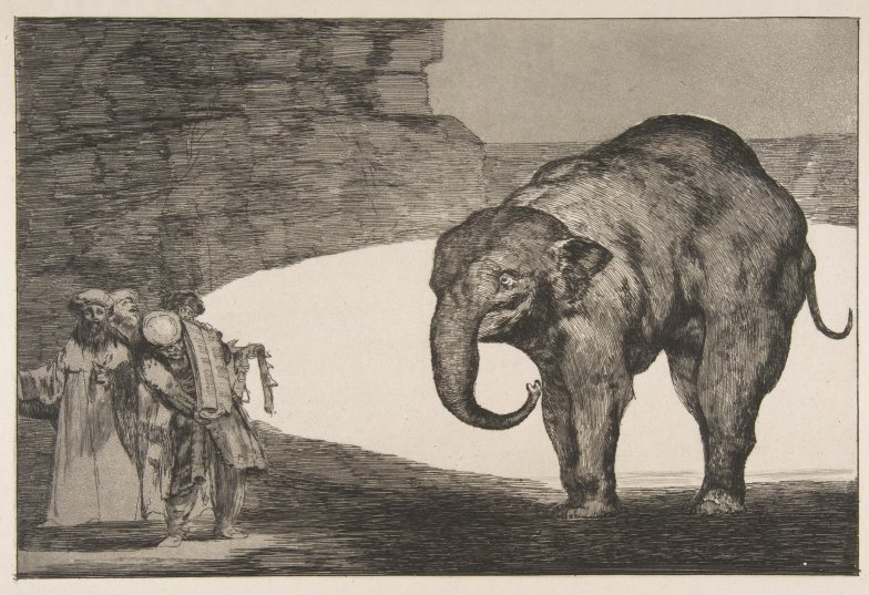 MMA_Goya_Disparates_Animal_Folly_elephant_7b
