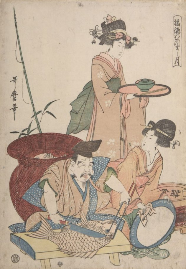 Harvard_Utamaro_Ebisu_preparing_tai_7b