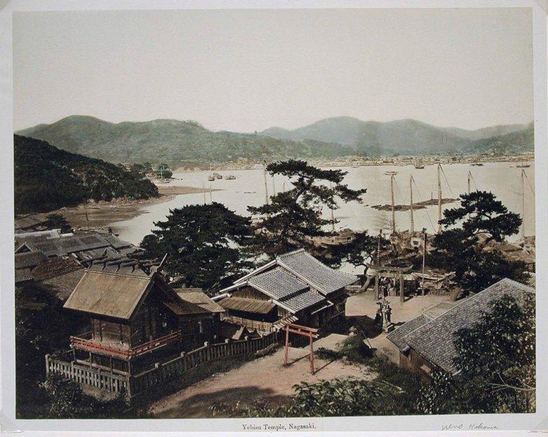 Yebisu_Nagasaki_Temple_ca1860_to_1900_7b