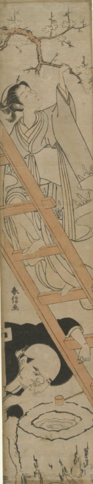 Harunobu_1770_looking_up_her_skirt_7e