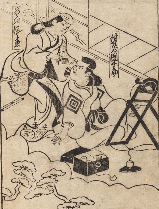 MFA_Kiyonobu_I_Sankai_Nagoya_actor_being_preped_7b
