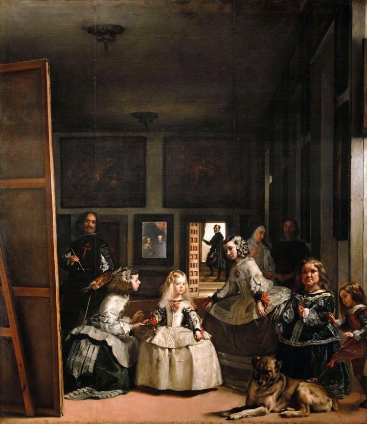 Prado_Velázquez_Las_Meninas_7b