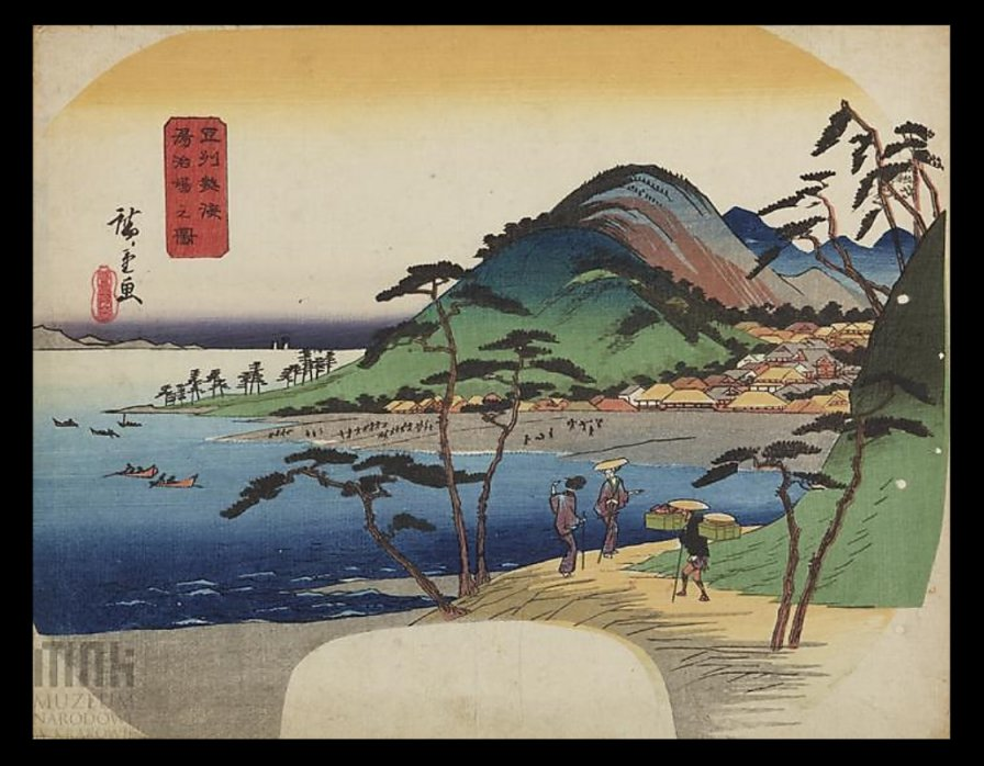 Hiroshige_Zushu_gorgeous_fan_Krakow2b