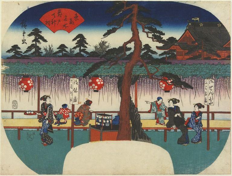 VAM_Kameido_Tenjin_Hiroshige_fan_7