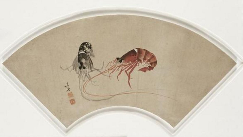 Guimet_Hokusai_ink_fan_7b