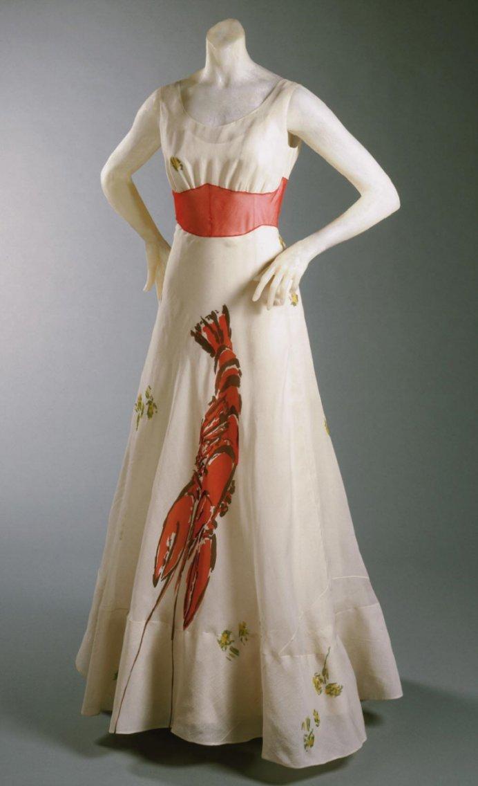 Philadelphia_Schiaparelli_Dali_lobster_dress_7c