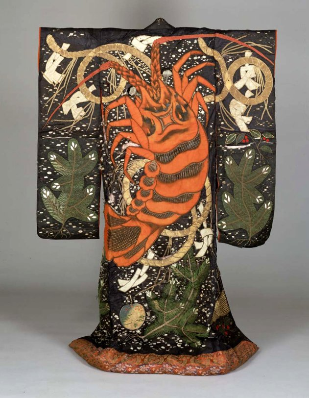 TNM_theatrical_robe_ebi_lobster_design_7c