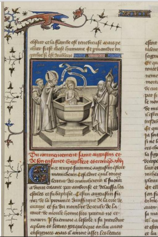 BnF_Vrelant_Baptism_of_St._Augustine_7b