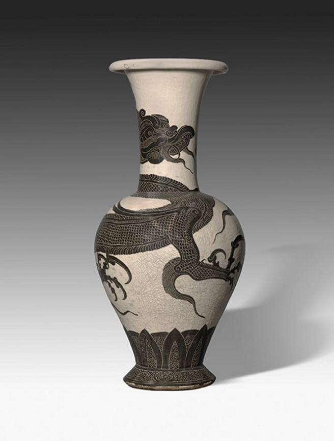 Nelson_cizhou_Northern_Sung_dragon_vase_7c