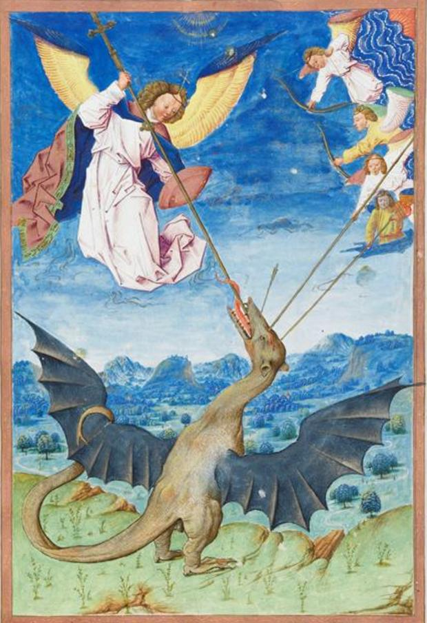 Chantilly_15e_St._Michael_dragon_Flemish_7
