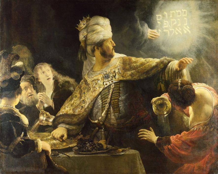 NG_Rembrandt_Belshazzars_Feast_7c