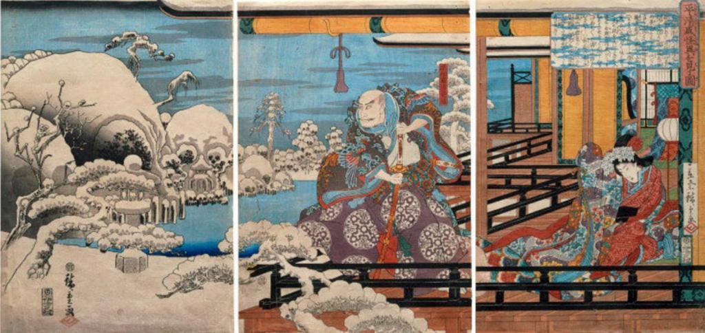 VAM_Hiroshige_Kiyomori_snow_skulls_7b