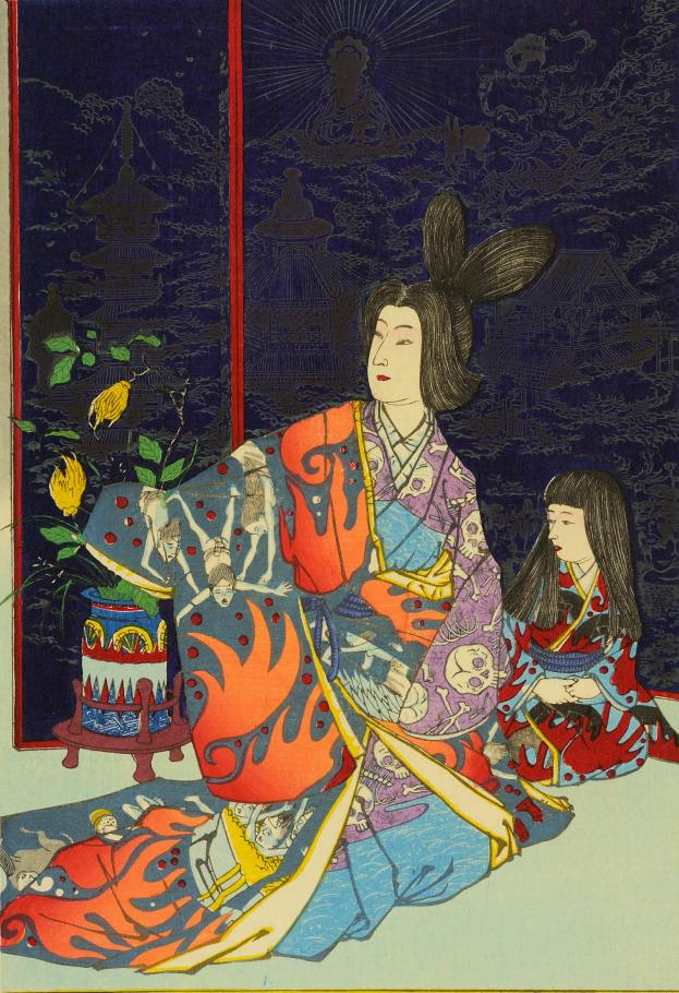 ritsumeikan_kiyochika_1884_hell_courtesan_7_detail2