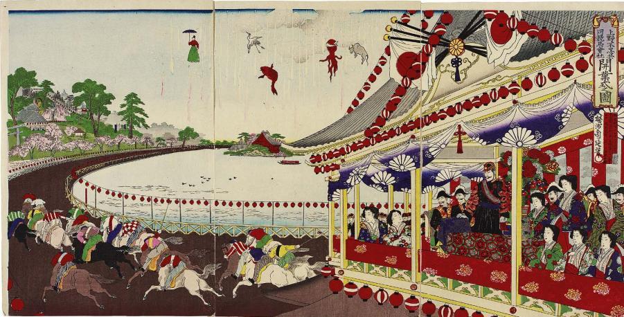 mfa_chikanobu_1884_horse_racing_shinobazu_7b